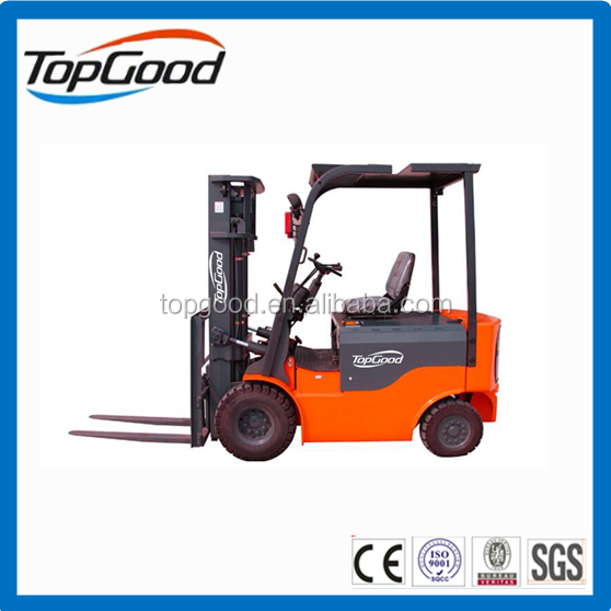 TOPGOOD 2.5 ton electric forklift , forklift truck, battery forklift for sale