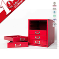 New 5-Layer Metal Desk Document Storage Box Files Organizer Cabinet Drawer