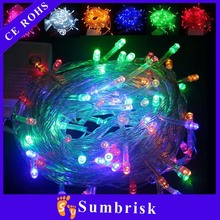 Wholesale mini LED cheap christmas light with battery case