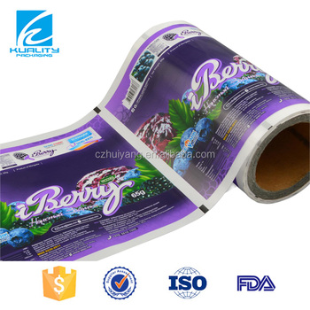 Eco Custom Printed Laminated Plastic Wrap Food Packaging Paper