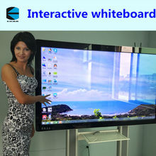 EKAA Hot sale Infrared 10 Touch 85 inch Interactive whiteboard/smart board/touch board for school,