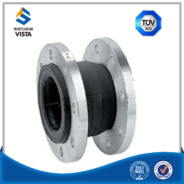 double sphere EPDM/NR/NBR rubber expansion joint bellows