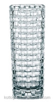20cm/25cm/30cm height Dancing Stars Bossa Nova 11-Inch Crystal Glass Vase for wedding centerpiece, two sizes