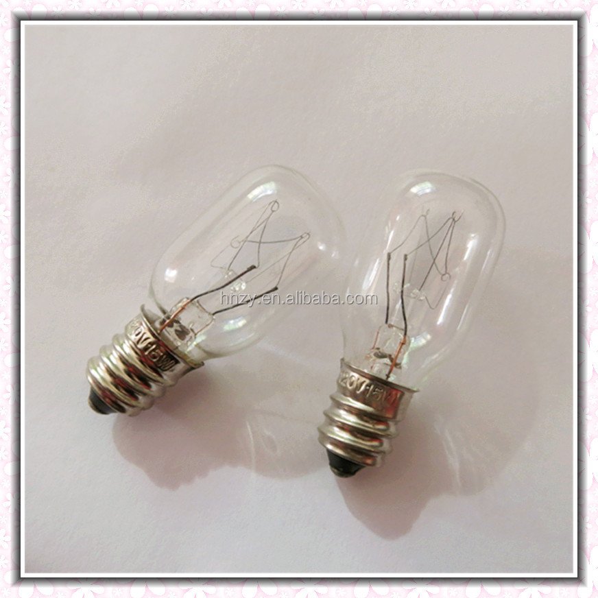 T20 10W/15W25W E14/ E12 Indicator bulb fridge lamp salt lamp