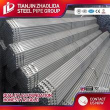 ASTM A53 GR A B ERW galvanized steel water pipe specification with price per ton