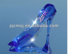2015 Fashion Crystal High Heel Shoes For Wedding Decoration