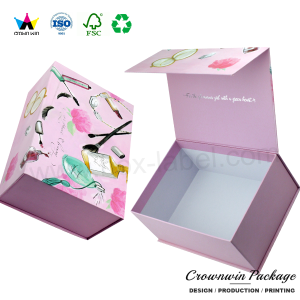 Wholesale luxury cardboard perfume gift box with magnet closure