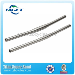 Titanium alloy material handle bar for bicycle