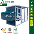 Rustic Coop with Painted Chicken & Run DFC009T