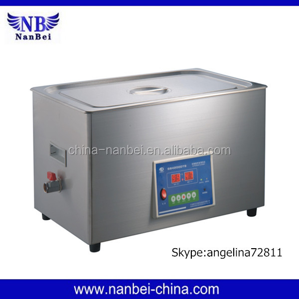 Timing adjustable 6L volume dental ultrasonic cleaning machine