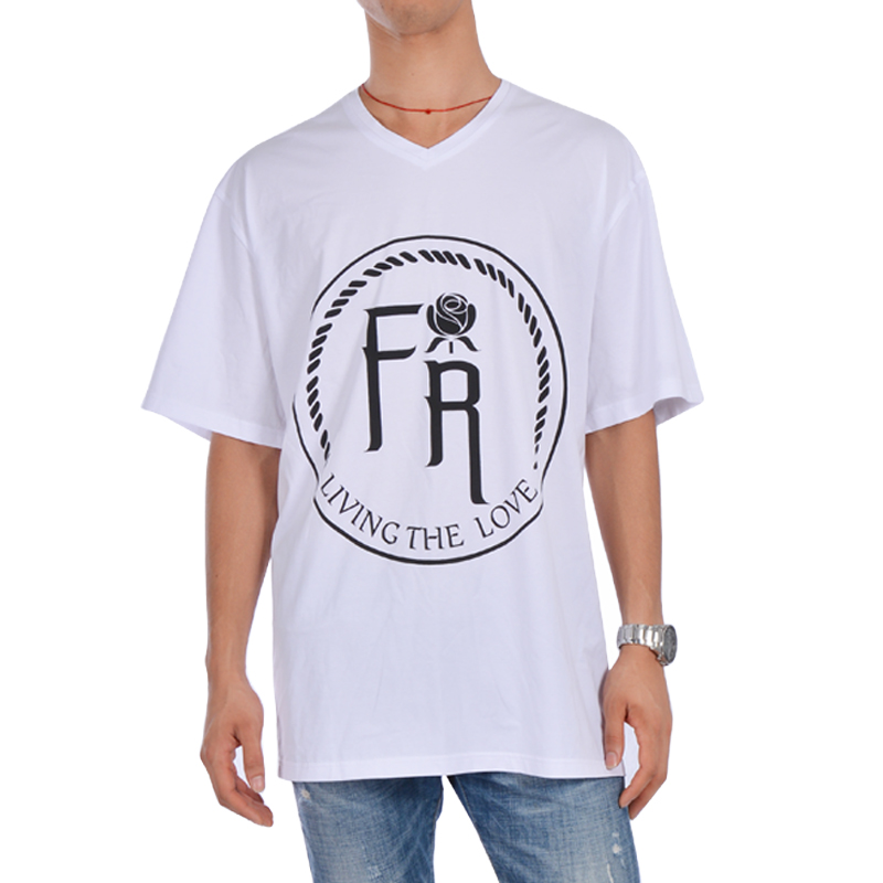 Latest Style Custom Men 100% Cotton Short Sleeve Clothing T Shirt