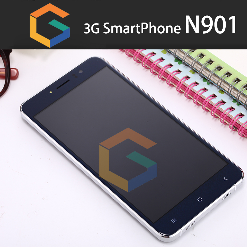 custom your brand mobile phone 5.5inch Smartphone N901 cheap 3G quad core 1.3Ghz smartphone blu cell phones