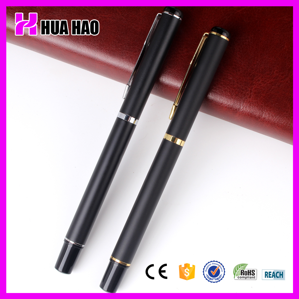 Manufacturers selling metal ball pen with cap roller ball pen for gifts