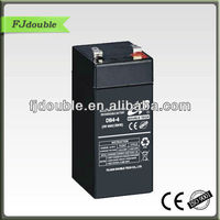 best price 4v 4ah small size battery, advanced battery,agm batterie with CE,ISO