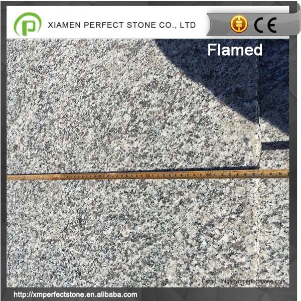 Flamed g623 granite with flamed surface finish granite