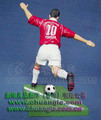 Resin football sports man figurine OEM factory