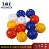 Plastic Airflow Hollow Golf Ball Practice Pickle Golf Ball