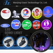 Shipping Mall 2016 High brightness advertising LED Logo Projector