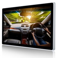 2016 new 43inch indoor Ipad style USB /wifi/ netwoek lcd full HD wall mounted advertising screen