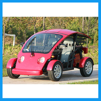 New energy city security patrol electric car