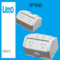 Waterproof Industrial Electrical Power point 10A