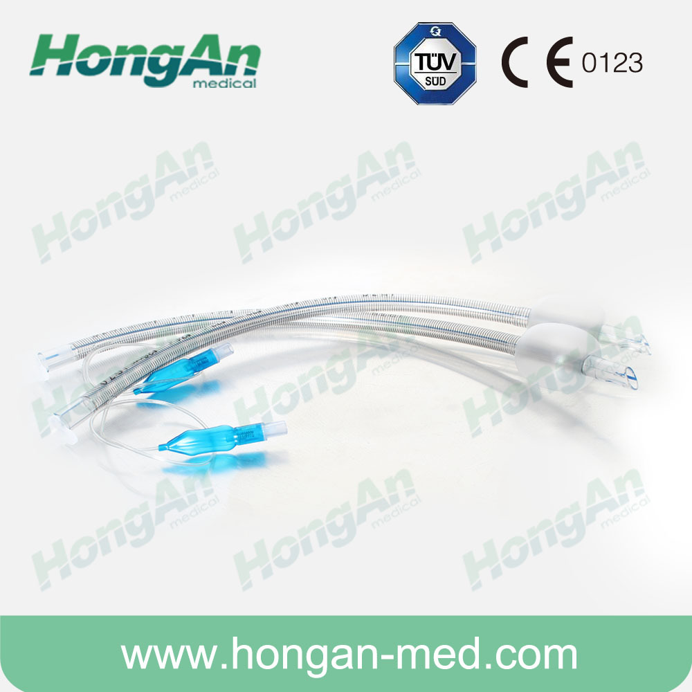 Anesthesia Consumables Reinforced Endotracheal Tube Cuffed