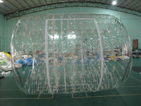 Transparent inflatable water roller ball, inflatable water walking roller ball, inflatable floating water roller