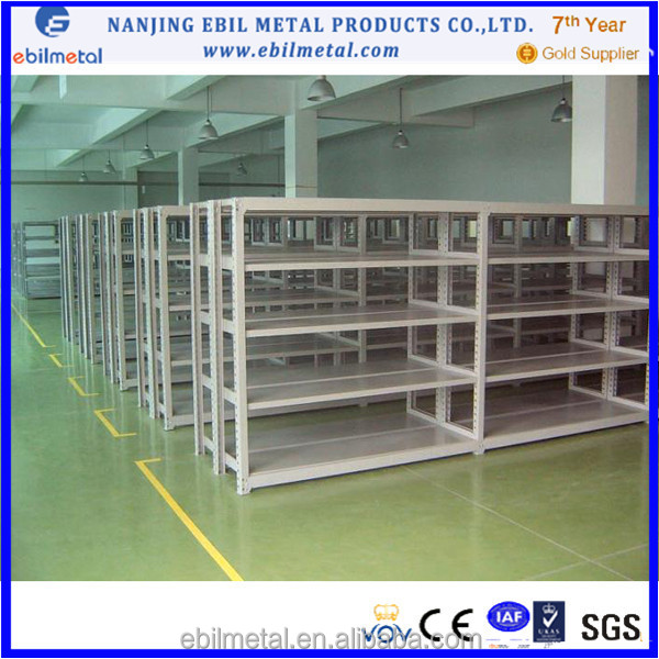 Light duty rack/high dense board rivet shelving/house storage rack
