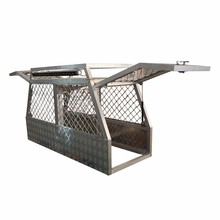 Heavy Duty Stainless Steel Big Animal Commercial Dog Cage for Hunting