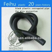 2014 China high quality corrugated electrical conduit hose Cable Sleeves flexible pvc duct hose