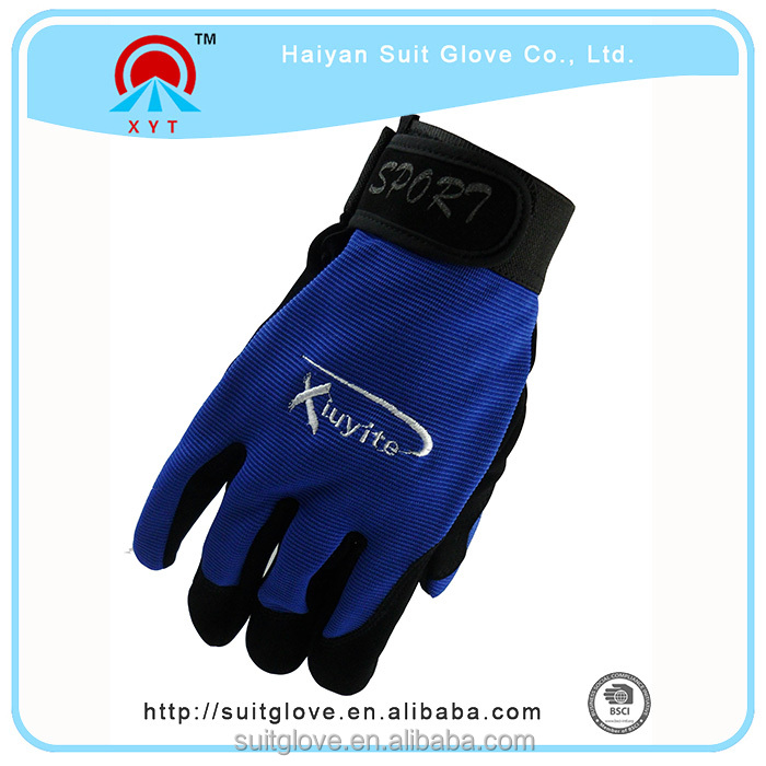 cycling gloves mesh fabric for motorcycle gloves and fabric custom motorcycle gloves