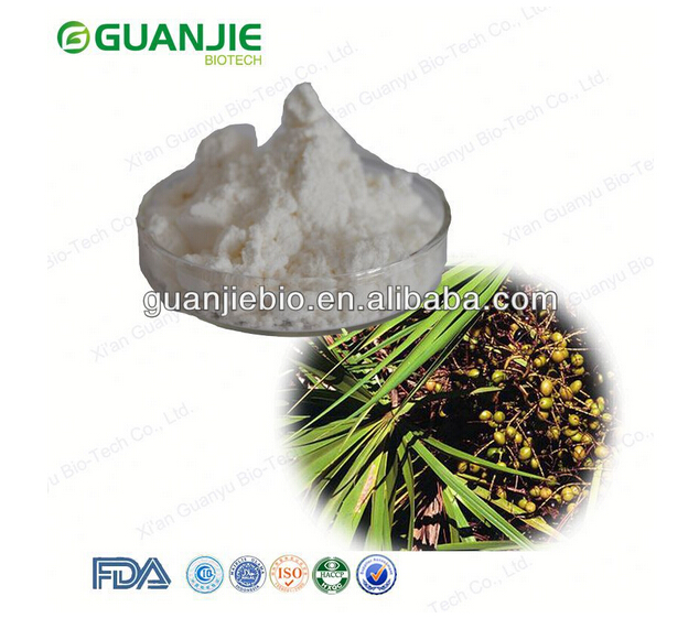 Factory Supply 25% 45% Fatty Acid Saw Palmetto Extract