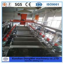 Electroplating line copper plating and zinc plating equipment