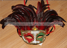 2014 Colorful Magnificent Fashion Feather headgear Luxuriant Chiristmas Holloween Feather head band