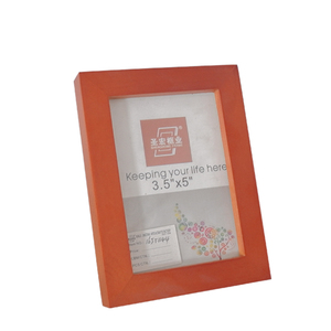 Photo frame record friendship wood photo frame for home decoration
