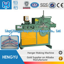 Full automatic clothes wire hanger making machine