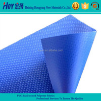 100% Polyester Fabric PVC knife Coated Tarpaulin Material Truck Cover