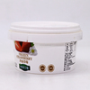 Wholesale Food grade plastic yogurt container 500ml plastic bucket
