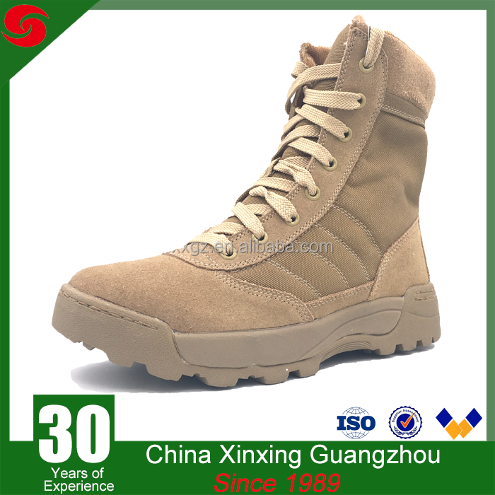 rubber outsole swat police army desert military boots wholesale