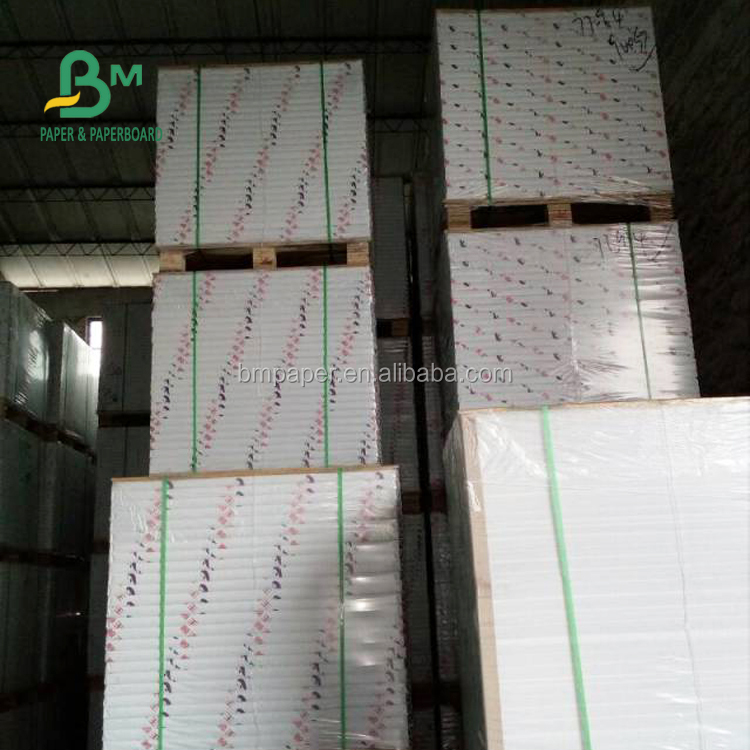 FSC Certified 70gsm 75gsm Uncoated Woodfree Offset Printing Paper In sheet or Roll