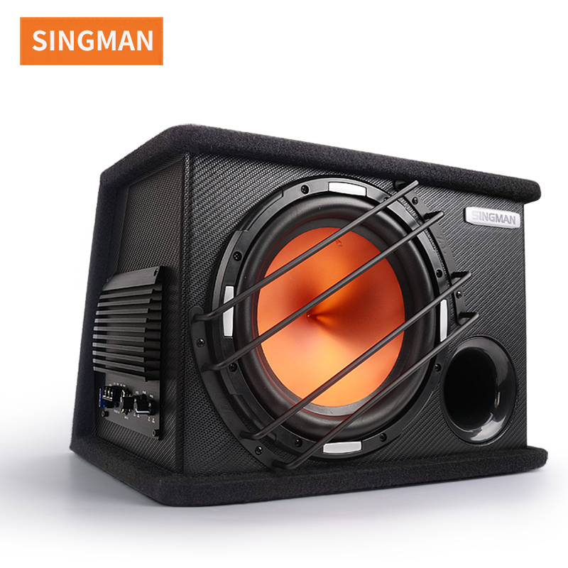 Factory price powerful car active subwoofer 10 inch active subwoofer