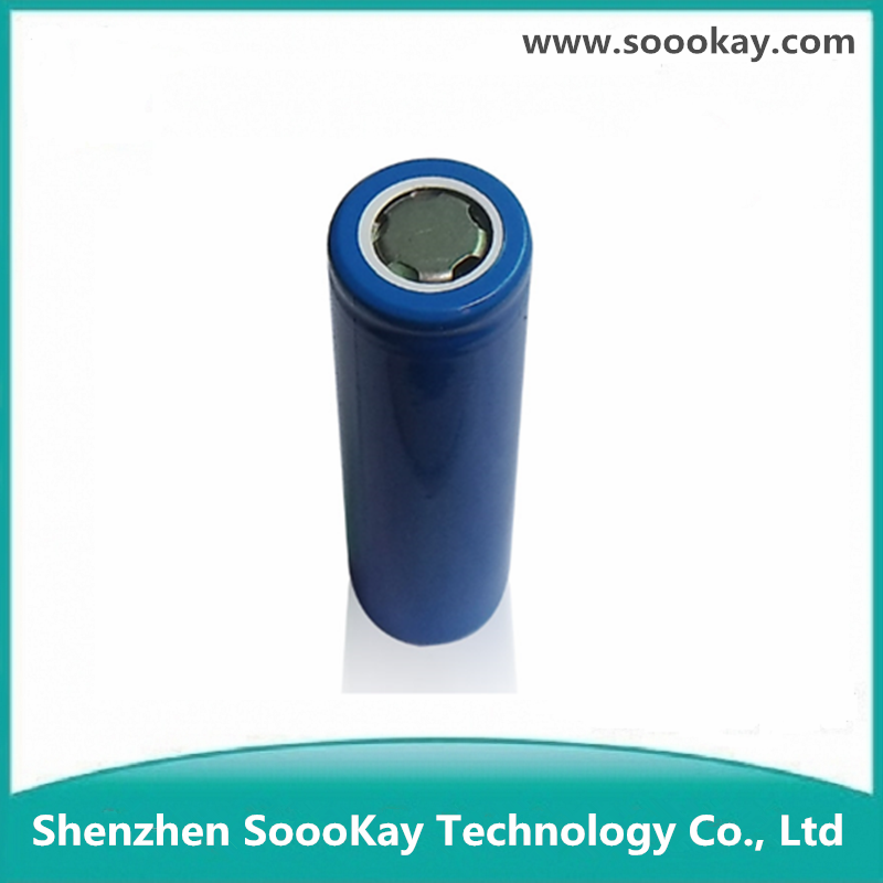 Rechargeable 3.7v flat 2600mah Sokay 18650 Lithium Ion Battery
