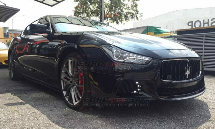 Ghibli body kits fit for Maserati Ghibli style changing into WD-style for maserati body kits
