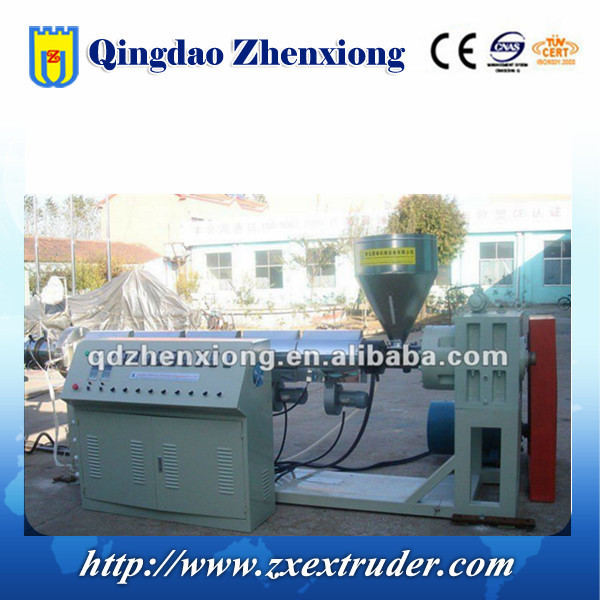 HDPE cable silicone core pipe production line/ HDPE cable duct production line