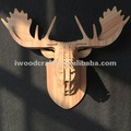 Wooden Decoration ,Deer Head Wall Decoration
