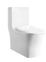 Bathroom wc washdown toilet one piece toilet seat & cover for portable toilet price