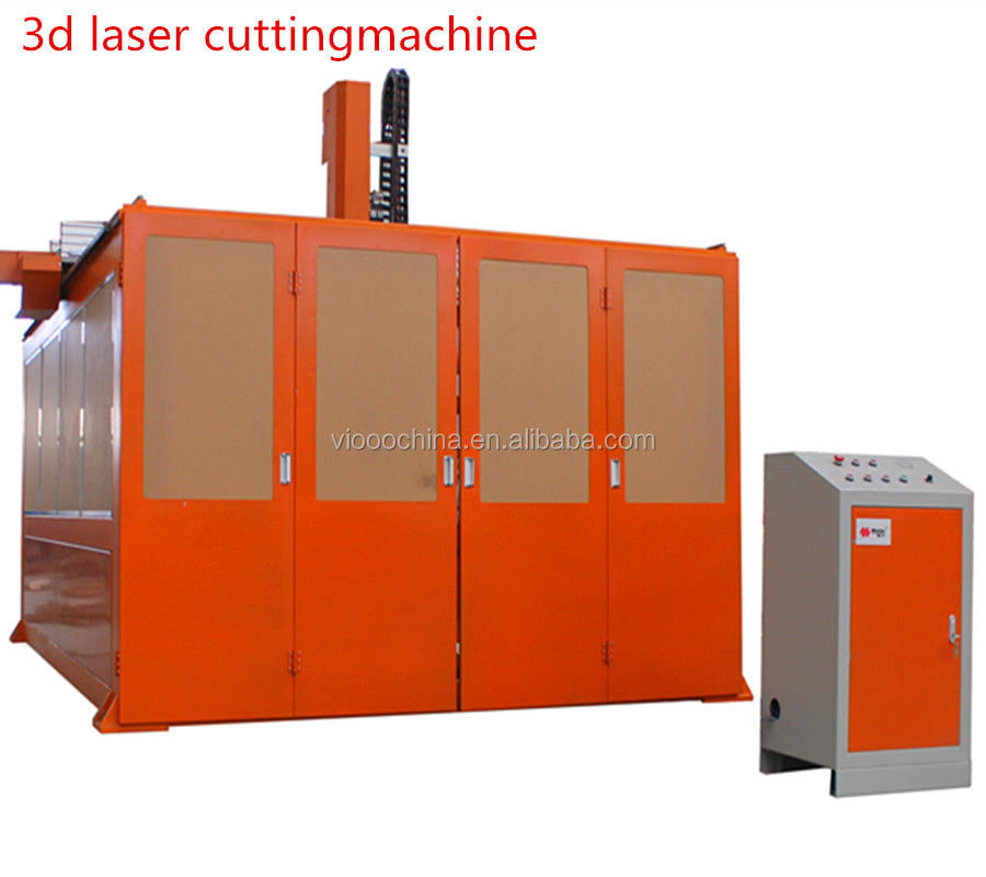 Five axis CNC nonmetal laser cutting machine for car interior trim