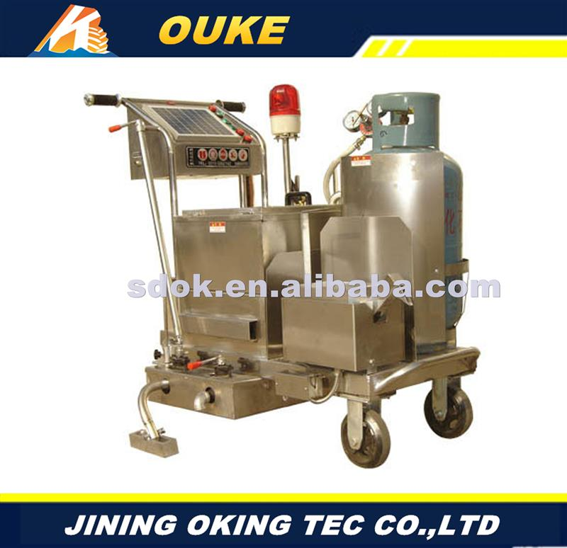 OKGF-50 walk behind road crack sealing machine,crack filling sewing machine