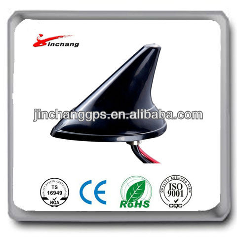 (Manufactory) High quality low price gps/gsm shark fin car antenna JCA002