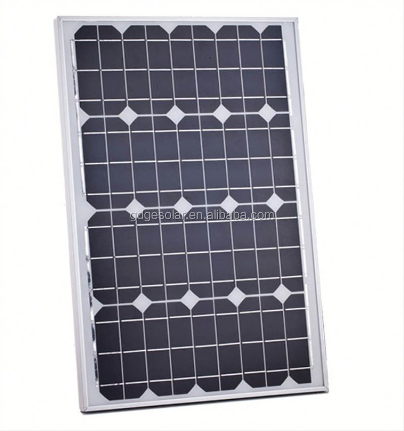 mono crystalline 90W cheap solar panel module ,solar panel container